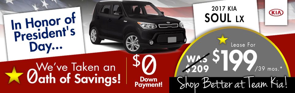 2017 Kia Soul LX at Team Kia