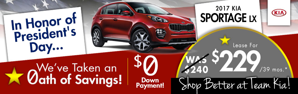 2017 Kia Sportage LX at Team Kia
