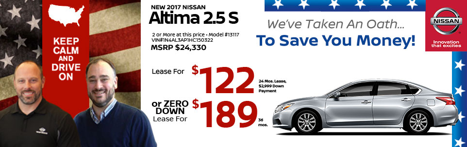 2015 Nissan Altima 2.5 S at Team Nissan New Hampshire