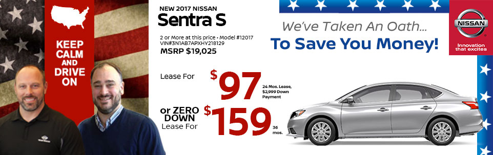 2015 Nissan Sentra S at Team Nissan New Hampshire